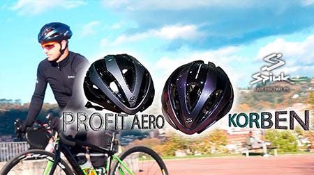 Nuevos cascos Korben y Profit Aero de Spiuk