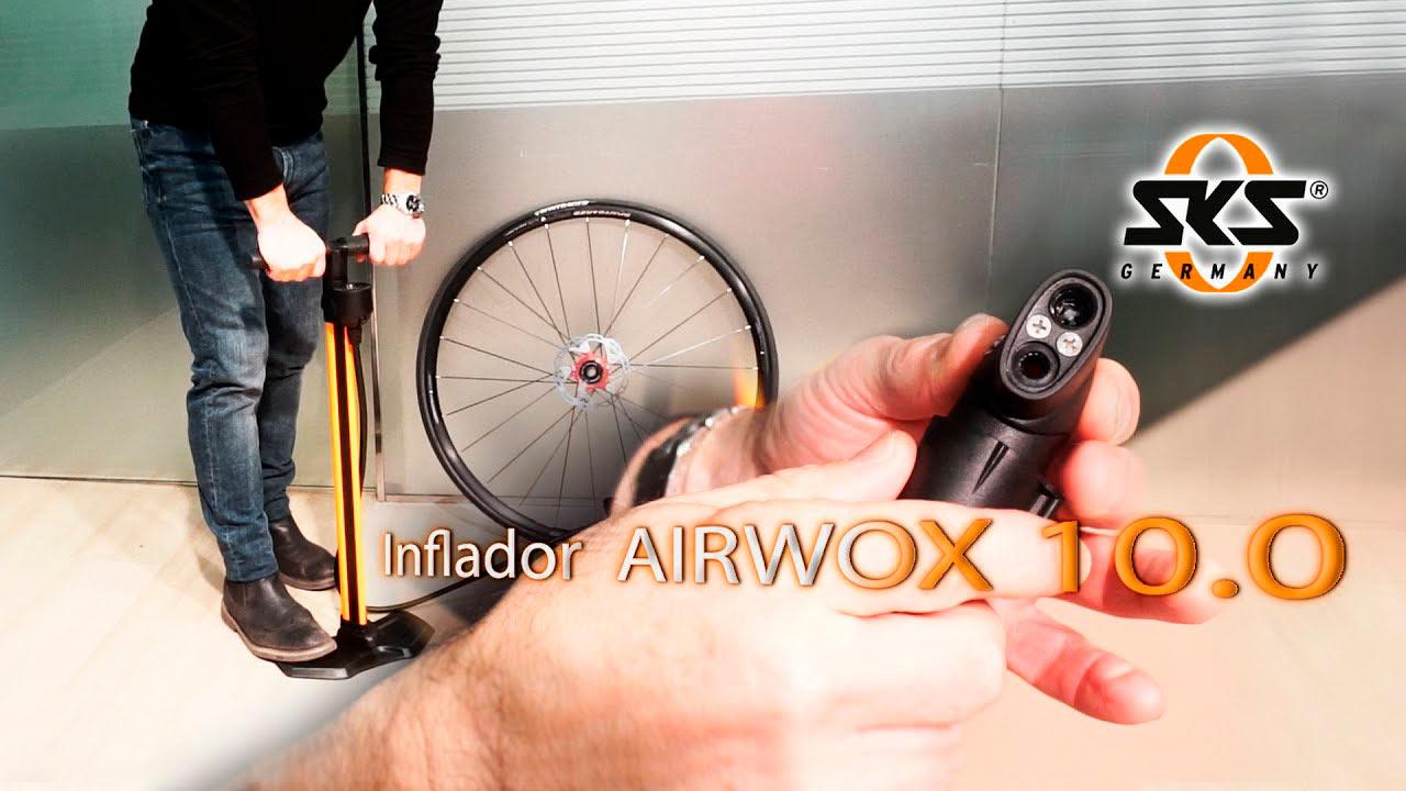 El inflador imprescindible: AIRWOX 10.0 de SKS