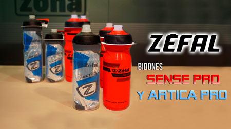 Los bidones Sense Pro y Arctica Pro una buena solución para hidratarte