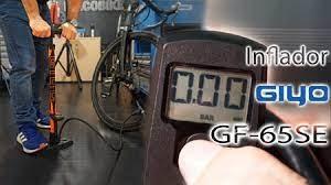 Precisión digital con el nuevo inflador Giyo GF-65SE