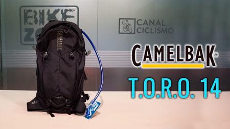 Protección e hidratación con la mochila Camelbak T.O.R.O. 14