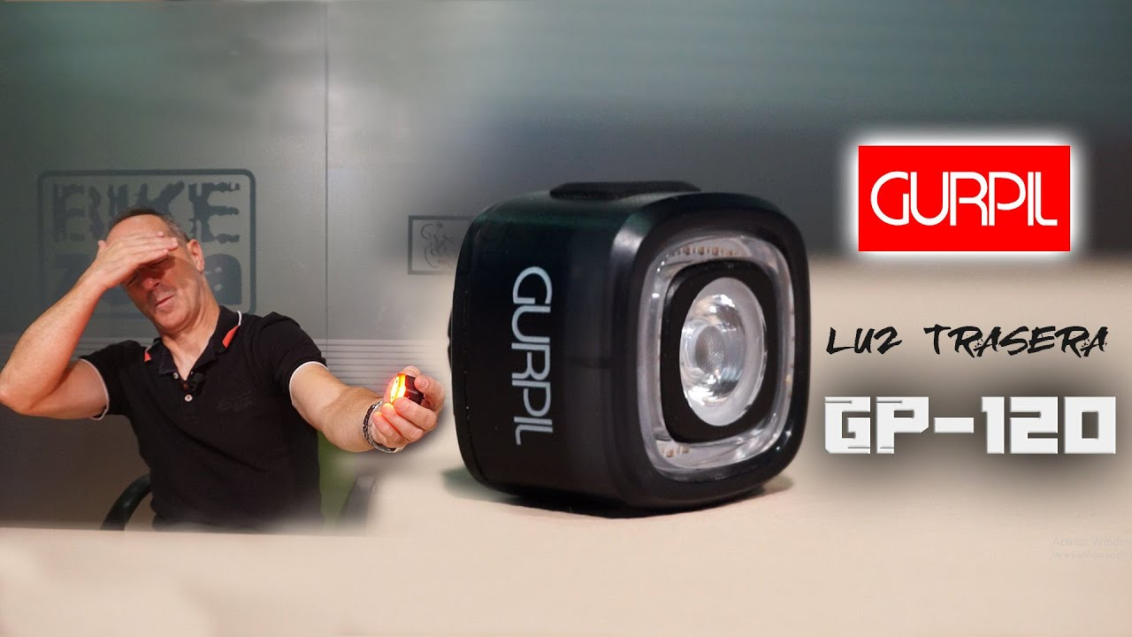 Luz trasera inteligente Gurpil GP-120