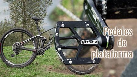 Nuevos pedales de plataforma XLC PD M14