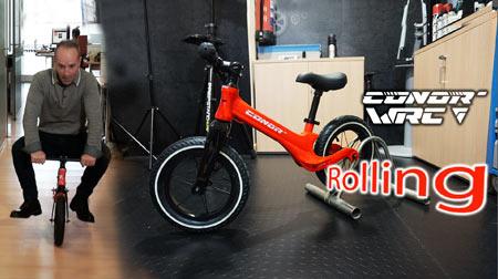 Conor Rolling: Una bici de verdad en versión mini