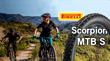 Nuevos neumáticos Pirelli Scorpion MTB S Soft Terrain