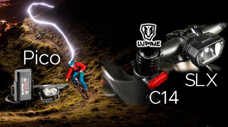 Super luces Lupine para Bikes y e-bikes