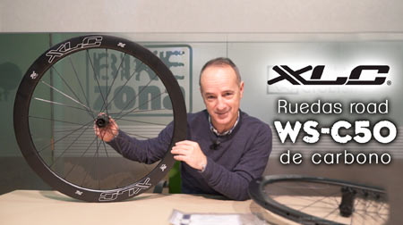 Ruedas de carbono XLC WS-50