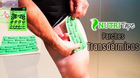 Parches transdérmicos Nutritape: Energía sin problemas de estómago