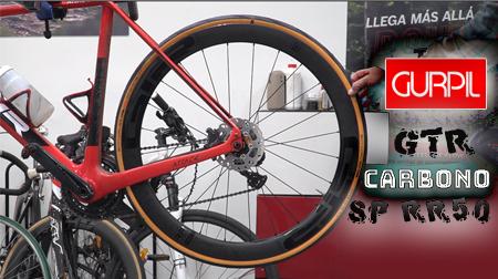 Nuevas ruedas GTR SP Carbono RR50 de Gurpil