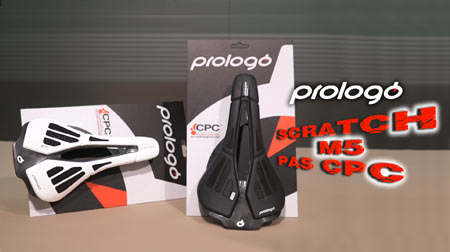 Nuevo sillín Prologo Scratch M5 PAS CPC