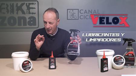 Lubricantes y limpiadores Velox, imprescindibles para tu bici