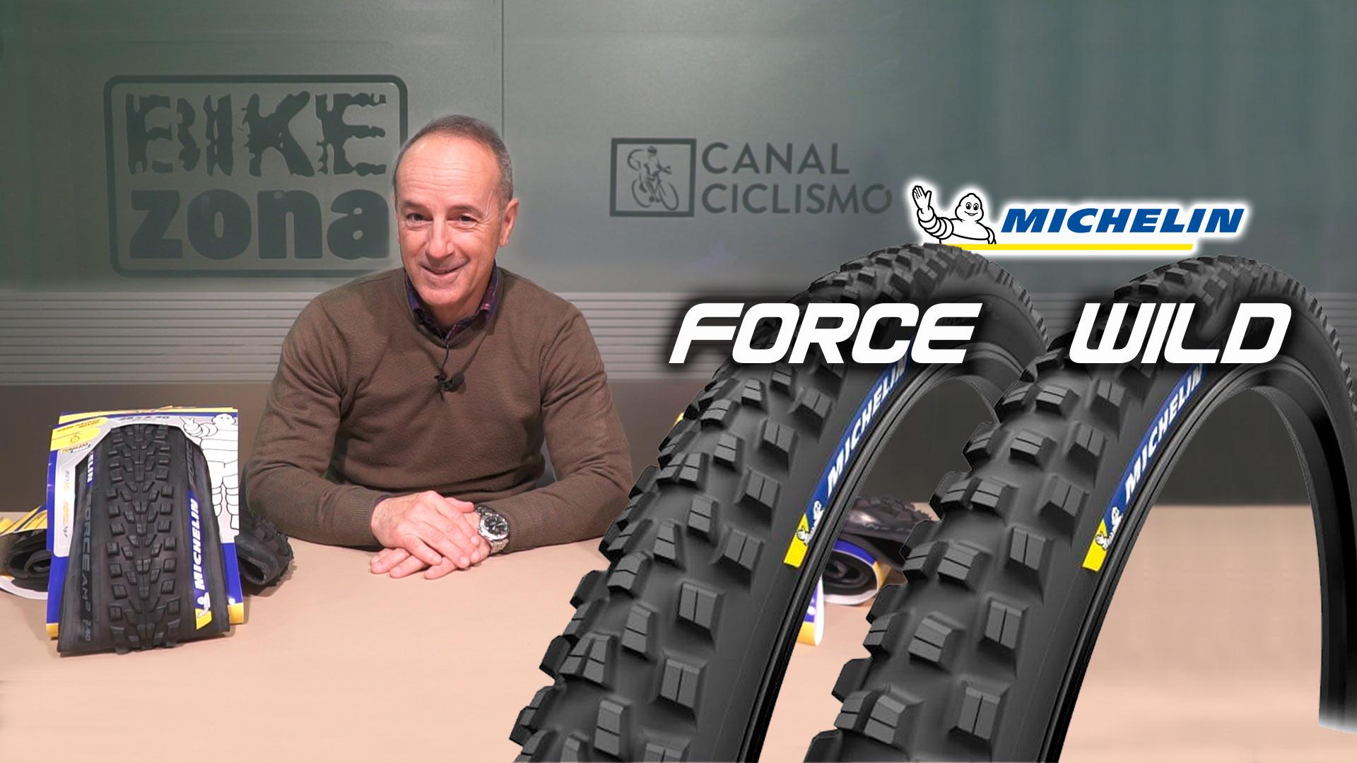 Los neumáticos más avanzados de Michelin para enduro: WILD AM2 y FORCE AM2