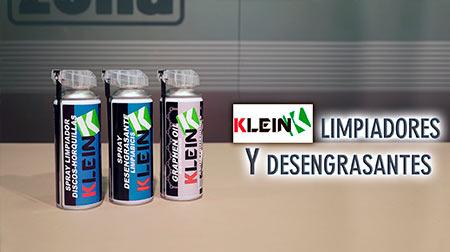 Nuevos limpiadores y desengrasantes en spray Klein