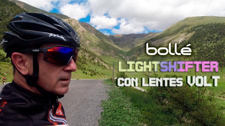 Nuevas Bollé Lightshifter XL con lentes VOLT+