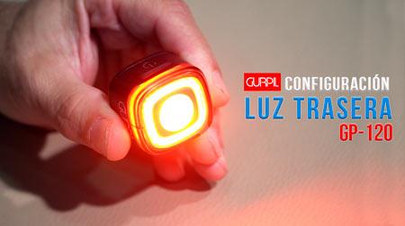Configuración luz trasera Gurpil GP-120