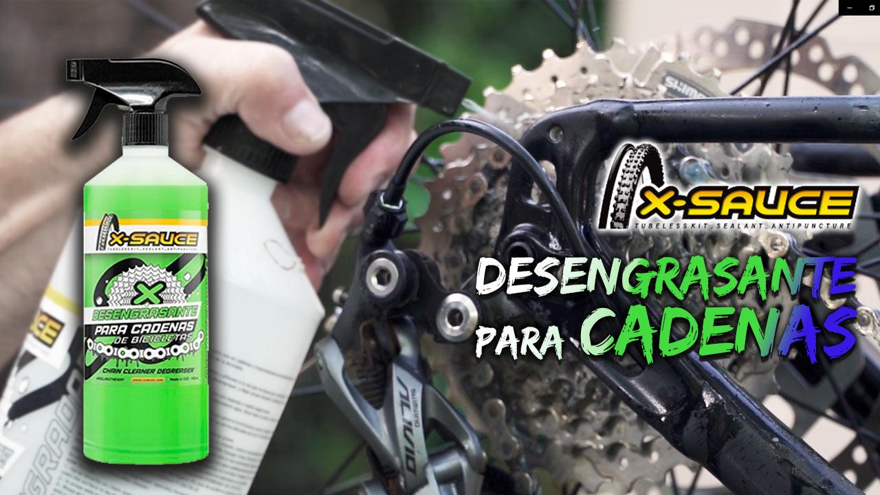Nuevo BricoBike con Josema Fuente<br>Desengrasante para cadenas X-Sauce