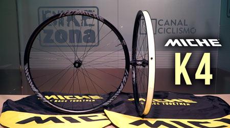Se renuevan las exitosas ruedas Miche K4