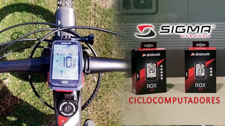 Los nuevos ciclocomputadores con GPS de Sigma