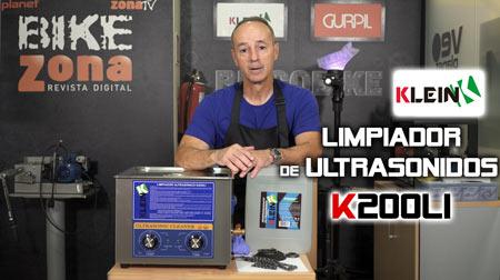 Limpieza por ultrasonidos con Klein K200LI
