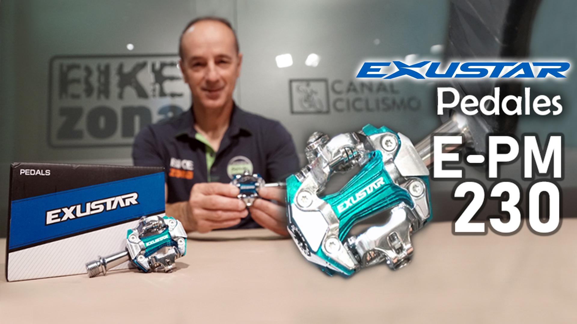 Nuevos pedales Exustar E-PM230