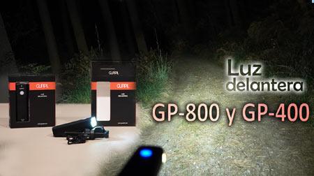 Dos luces delanteras para ver en la oscuridad: Gurpil GP-800 y GP-400