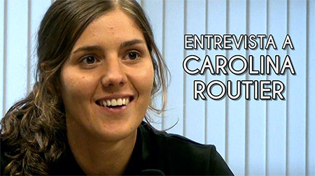Entrevista a Carolina Routier