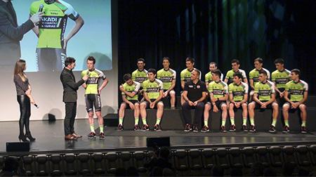 Presentación oficial equipo Euskadi Basque Country - Murias