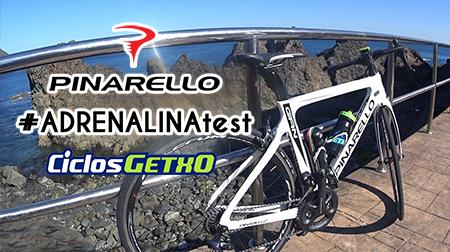 #ADRENALINAtest de Pinarello GAN con Ciclos Getxo