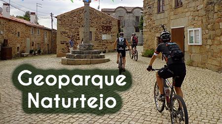 BikeZona en el Geoparque Naturtejo