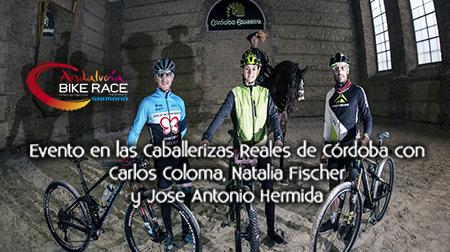 Hermida, Coloma y Fischer en las Caballerizas Reales de Córdoba