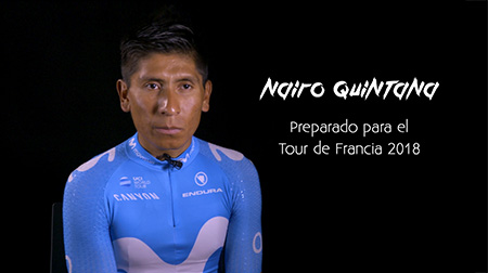 Nairo Quintana, preparado para el Tour de Francia 2018