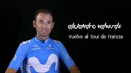 Alejandro Valverde vuelve al Tour de Francia