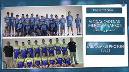Presentación equipos Vicinay Cadenas-Mendieta-Lancor y Zabalgarbi photon