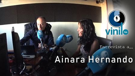 Vinilo FM entrevista a Ainara Hernando