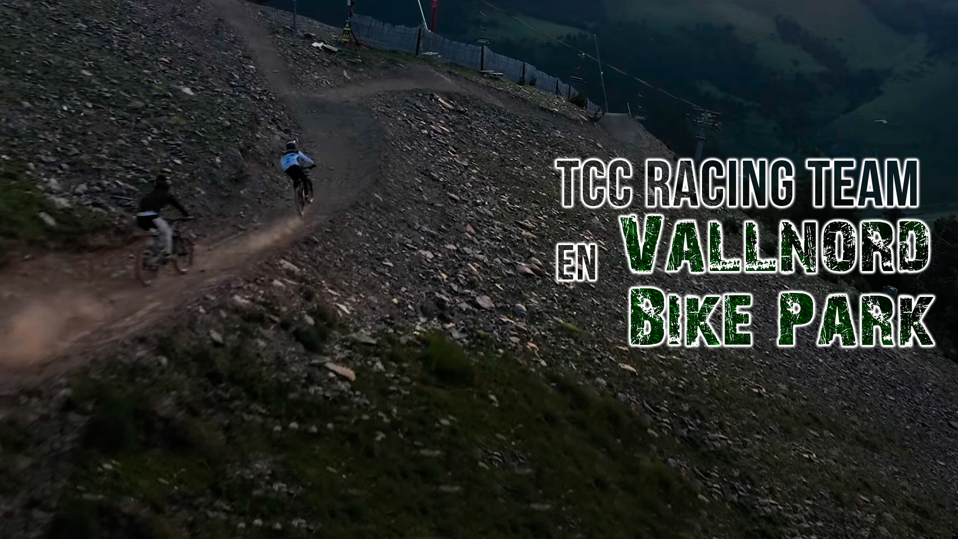 El talento del TCC Racing Team en Vallnord Bike Park