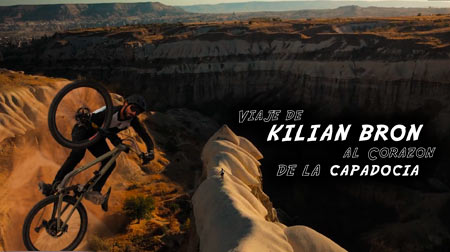 Kilian Bron en el corazón de la Capadocia