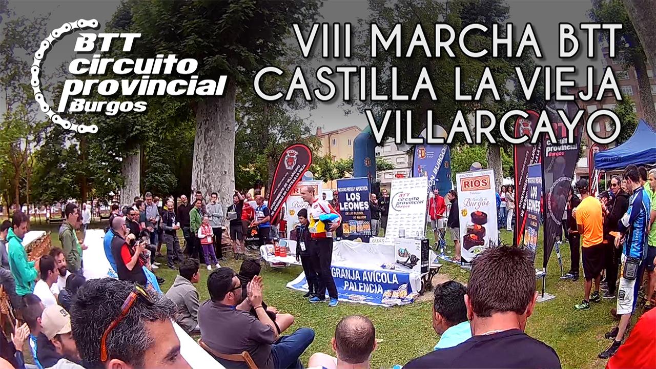 Entrevistas y entrega de premios en la VIII Marcha BTT Castilla La Vieja