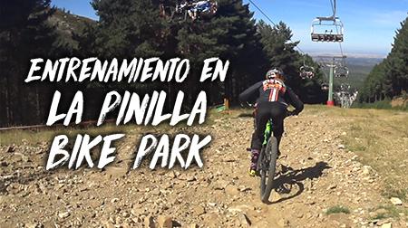 Entrenamiento en La Pinilla Bike Park