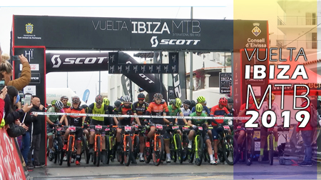 Vuelta a Ibiza en mountain bike 2019