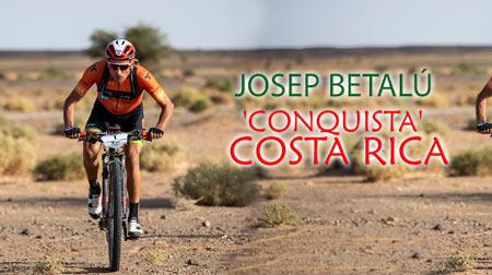 JOSEP BETALÚ Hace historia y  'conquista' Costa Rica