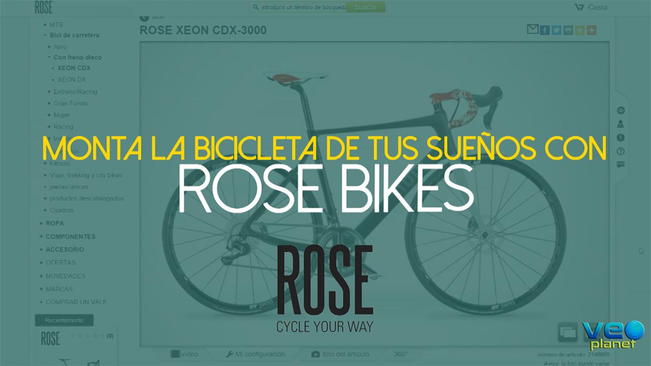 Monta la bicicleta de tus sueños con ROSE Bikes