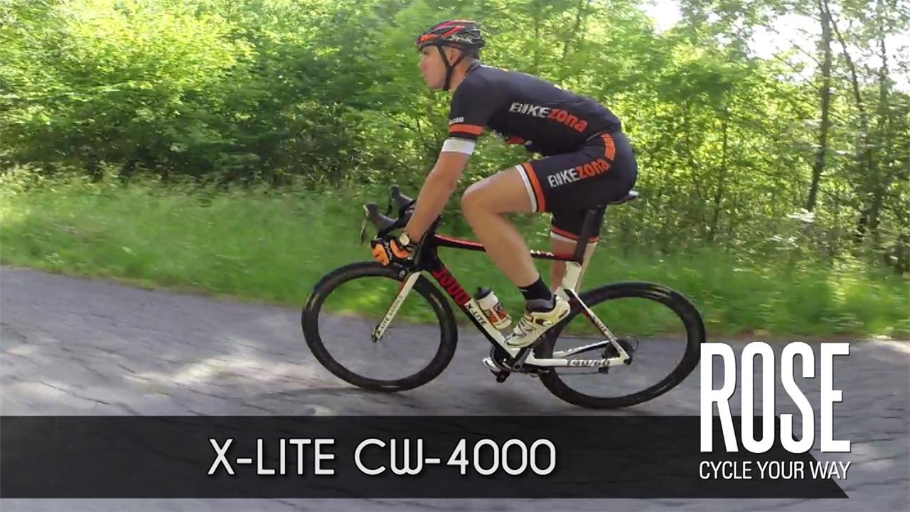 Vuela con la ROSE X-LITE CW-4000
