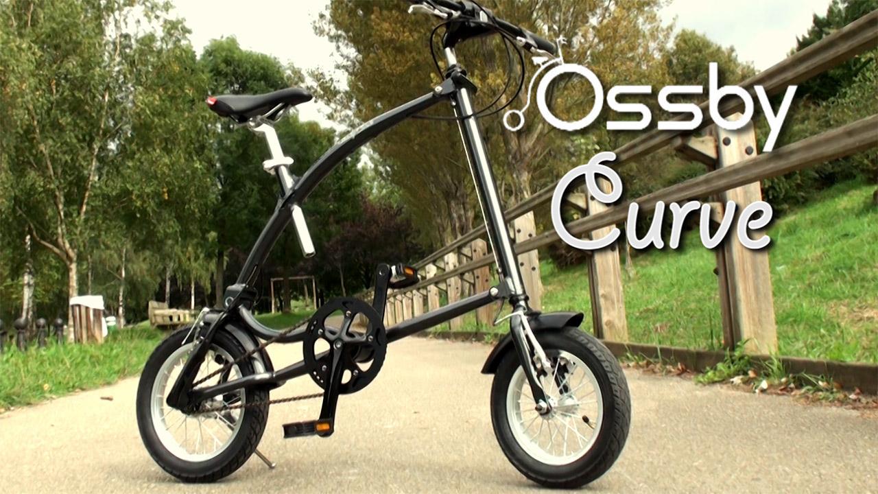 Ossby Curve, la bicicleta que se pliega en un segundo