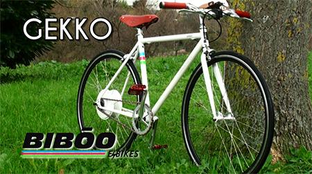 Disfruta de la ciudad con la BIBŌO GEKKO