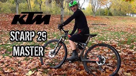 KTM Scarp 29 Master, equilibrio y comodidad