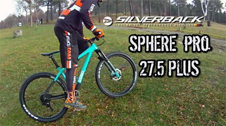 No hay terreno que se resista a la Silverback Sphere Pro 27.5 plus