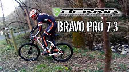 La bici ideal para la competición: BRAVO PRO 7.3 de Berria