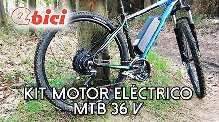 Convirtiendo una MTB en eléctrica con el kit Ebici