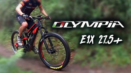 Explora cualquier terreno con la e-bike Olympia E1X 27,5+