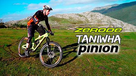 Enduro, carbono y Pinion se unen para crerar la bestia: Zerode Taniwha Pinion